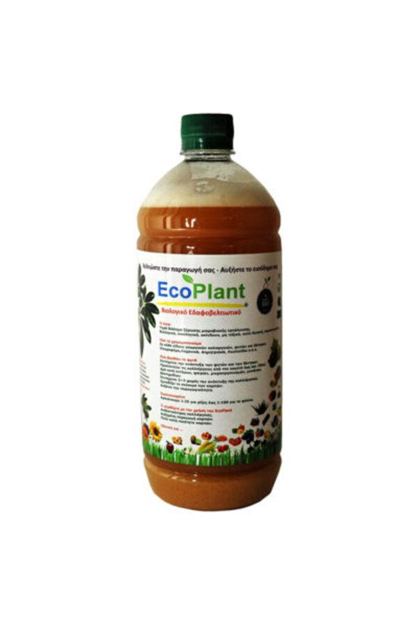 EcoPlant, Βιολογικό Εδαφοβελτιωτικό 1L  Classic